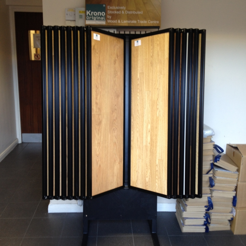 Swing Arm Stand : Laminate swing arm stand uk display stands