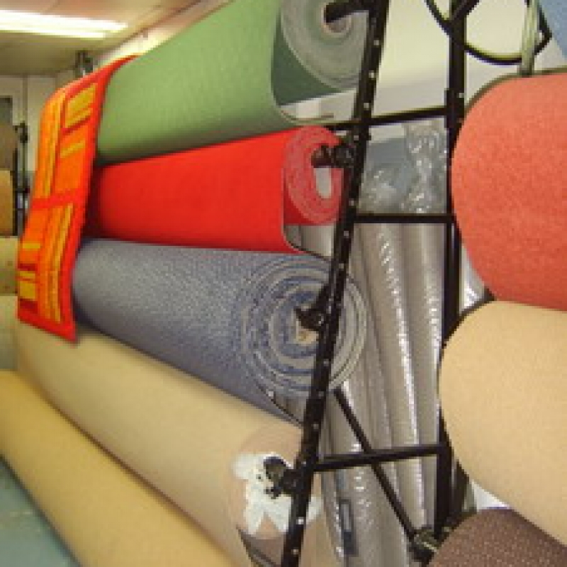 Carpet Roll Rack Displays - Carpet Vidalondon