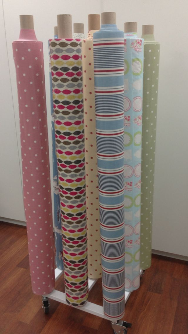 Fabric 9 Roll Stand Vertical Uk Display Stands